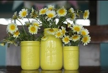 mason jars / a collection of mason jars for your weddings or home, or just because you love them too! / by Oh Lovely Day®