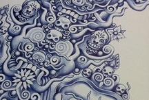 Doodlin Masterpieces / When doodling is brought to a whole new level / by Julien Tilly
