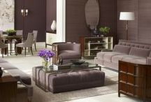 Living Room - Inspiration / Inspirational ideas for both the living or family room. LIVING ROOMS that you can LIVE IN and LOVE! If you like what you see - ask about our Design Services to help you create the room of your dreams.