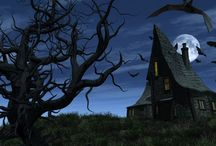 Spooky Haunted Houses / Haunted houses