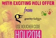 Holi Offers 15% Off on All Colorful Collection / Get High on This Colorful Festival |Use Voucher Code: HOLI2014 | Offer Valid Till 18th March 2014 | 15% off on all Products
