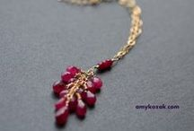gemstones & jewelry / a collection of gemstones and other sparkly stuff! / by Amy Kozak Designs