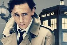 ♥ Tom Hiddleston & Tardis  ♥ / by Dóry Tímár