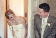 First Look Photos / by Wedding Guide Chicago