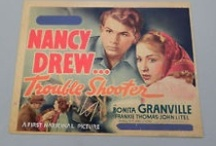 Nancy Drew 1930s Movies / Memorabilia from 4 1930s Warner Brothers Nancy Drew movies starring Bonita Granville and Frankie Thomas