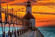 The Great Lakes State - Pure Michigan / michigan, America's High-5, the mitten state! / by Deb Bronson McGrath