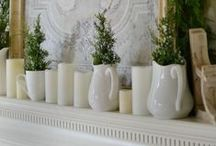 Picket Fence: Holidays We Create! / A round up of favorite holiday projects, crafts and decor from www.atthepicketfence.com