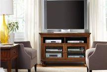 TV/Media Cabinets / Media Cabinets at Cadieux Interiors.