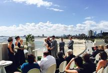 Wedding Venue - Harbour Room, RMYS / Located in the Royal Melbourne Yacht Squadron the Harbour Room and rooftop are available for weddings and events. Ideal waterfront location with remarkable sunsets and bayside views, Harbour Room is operated by food&desire.