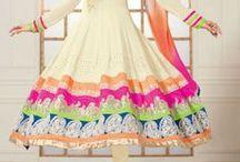 Bollywood Ankle Length Anarkali Suit / Buy bollywood floor length salwar kameez online