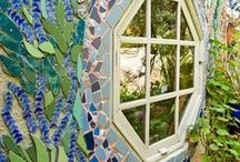 Mosaic Garden Ideas