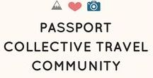 Passport Collective Travel Community / Join our travel community and share your travel related posts. Max 5 posts/24hrs. Show some love and repin posts that inspire you. *Vertical pins only & *No blogging, or posts about earning money abroad please. To join message @pportcollective. Happy Pinning!
