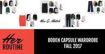 Boden Capsule Wardrobe - Fall 2017