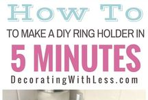 {DIY Ideas} / DIY ideas your can use around for your home