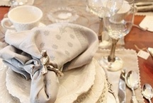 Table Settings / Vinyets / some ways of making your table look like they came from a magazine.. / by Marilyn (Freeland)  Taylor