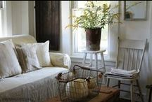 Farmhouse Style / simple and rustic | things worn and loved