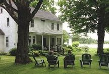 Outdoor Living / porches, potting sheds, al fresco dining and gardens of all kinds make the most of outdoor living
