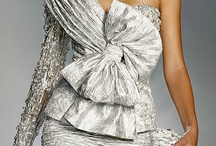 ❤ Silver ❤ / I LOVE silver and colors mixed with silver...I know, it tarnishes...but it's just so pretty! ♥