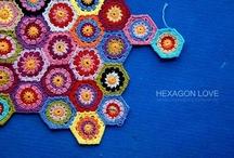 AROUND hexagons / HEXAGON love