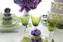 ❤ Lavender & Green ❤ / ...very pretty colors together...