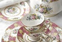 Cherished China / I love fine bone china. And I especially fancy the ones made in Britain...just beautiful and delicate ❤