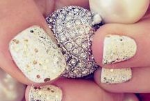 ❤ Silver & Gold & White ❤ / Blingy ♥ sparkly ♥ countless possibilities ♥ / by Debbie Orcutt