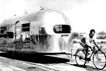 Glamping / RV's, campers, trailers, caravans...mobile living  / by Everett Katigbak