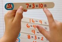 Fun Math Activities and Games for Kids / Make math way more fun with these math-themed activities, games, and ideas, perfect for home or math centers at school! #Math #STEM #MathGames #MathActivities