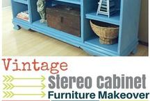 {Furniture DIY Projects & Ideas} / Pins about DIY Furniture Projects and ideas you can do to save money furnishing your home.