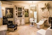 Salon Ideas / Ideas for my future home salon! / by Kallie Ward