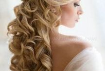 Wedding ~ Bridal Hairstyle Ideas ~ My Beach Wedding / Some of my favorite Hairstyles for Brides with long hair.