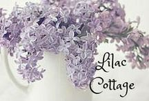 Lilac Lane Cottage ❤ / My lovely quaint little cottage filled with hues of lilac, orchid, and amethyst tones. Welcome! ❤