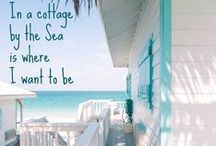 Seaside Escape Cottage ❤ / Welcome to a quaint get away for the family to play, relax, and breathe. Nothing compares to the salty sea air, a fresh cup of coffee and reaching for a lovely book to read...all to the calming background of crashing, distant waves. Escape with us to our Seaside Cottage. ❤