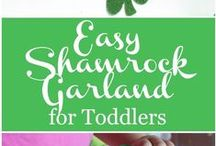 St. Patrick's Day Crafts, Food, & More / Everything you need for St. Patrick's Day from fun crafts and DIY's to delicious food and printables and everything in between.