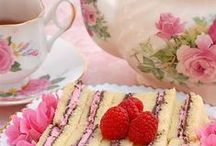 Tea Time Sweets & Savories ❤ / Welcome to my yummy and  and pretty tea time foods. I hope you enjoy discovering some of my favorites! (many of my lovely recipes are from Pink Piccadilly Pastries blog   ...Thank you, sweet Jina!)