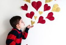 Valentine's Day Crafts / Kid crafts for Valentines Day. Handmade DIY kid-friendly art that's fun for the whole family.
