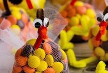 Thanksgiving Crafts & Activities for Kids / Family fun awaits this Thanksgiving! Give little ones (or even adults!) activities to gobble about this turkey day with these easy activity ideas for kids perfect for DIY fun at home or school! #Crafts #ThanksgivingCrafts