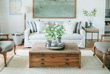 Living Room / Living Room Decor Ideas