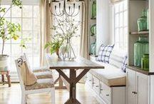 Dining room / dining room decor ideas
