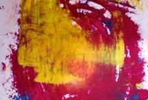 ART. Vibrant Colors / Original artworks... art, drawing, painting on paper.