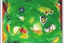 Art. Green / Paintings. Works on paper.