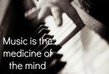 Music. Music. Music. Music. Music. / by Crystal Moore