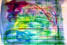 Art. Blue. / Art. Paintings, drawings.