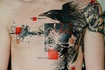 Attractive tattoo ideas / Tattoos are (almost) for ever. Beautiful works of art on the skin.