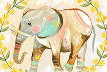 e is for elephant / by Sarah Sorensen
