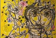 ART. Yellow paintings. / Paintings by R. Marinho. regiaart@gmail.com