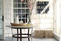 Porch, deck and patios