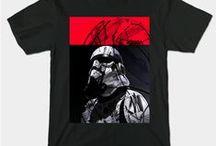 T-Shirts / T-shirts by artist Regia Marinho / RegiaArt. #art #drawing #digitalart #painting
