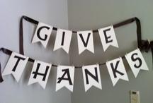 thanksgiving. / by Kathleen Neumann