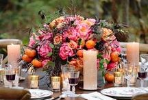 Sensational Centerpieces! / Wedding reception centerpiece ideas. / by Callie Lowler